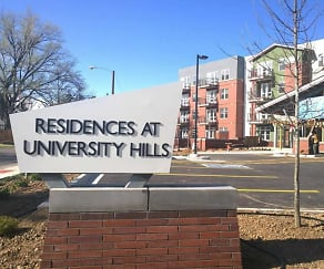 Community Signage, Residences at University