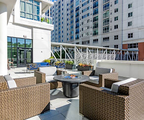 Patio / Deck, Premier Apartments