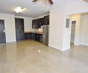 Living Room, Uptown Lofts