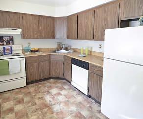 Kitchen, Woodmere Apartments