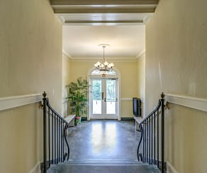 Foyer, Entryway, The Terrace Apartments