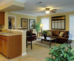 Living Room, Aventine at Forest Lakes