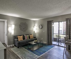 Living Room, Pierpoint Apartments