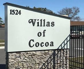 Community Signage, Villas of Cocoa