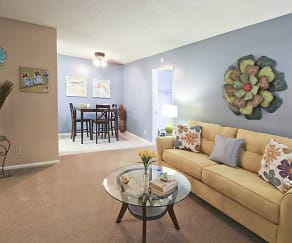 Living Room, Country Village 55+