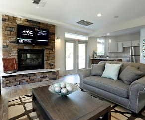Living Room, Copper Creek Apartments