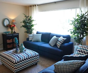 Living Room, Roselake Apartments