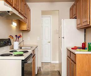 Kitchen, Newcastle Apartments
