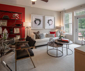 Living Room, Enclave at Box Hill