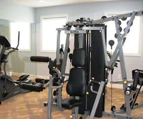 Fitness Weight Room, Cedar Manor