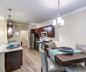 Kitchen, 54 Station Apartment Homes