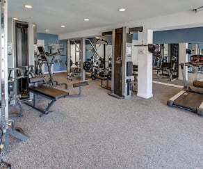 Fitness Weight Room, The Reserve at Glenville