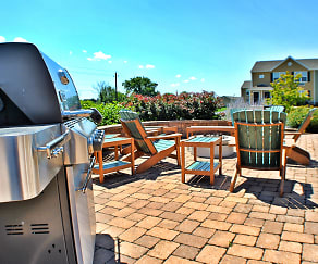 Grills and Lounge Chairs, The Edge At Kutztown - Student Housing