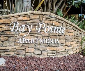 Community Signage, Bay Pointe
