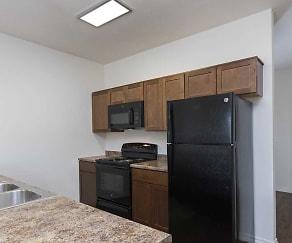 Kitchen, Markwood Apartments