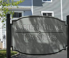Community Signage, Carefree Village Townhomes