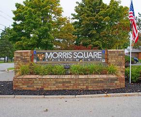 Community Signage, Morris Square