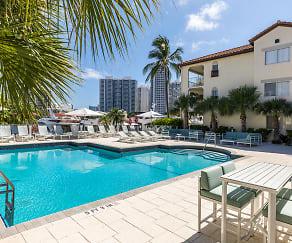 Pool, Waterways Village Apartments