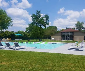 Pool, Upland Park Townhomes