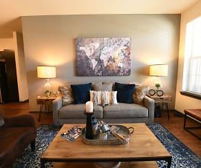 Living Room, Springs at Eagle Bend