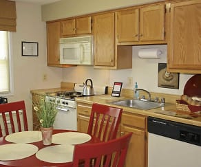 Kitchen, Kingston Townhomes