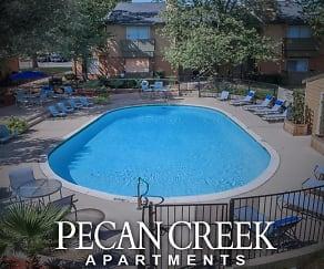 Pool, Pecan Creek Apartments