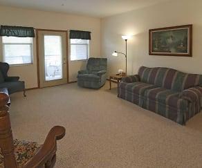 Living Room, Cannery Row Senior Community