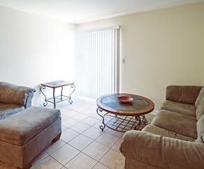 Living Room, Willowbrook Apartments