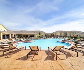 Pool, The Domain At Waco Student Apartments