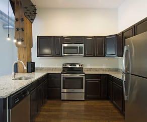 Kitchen, Heath Street Lofts