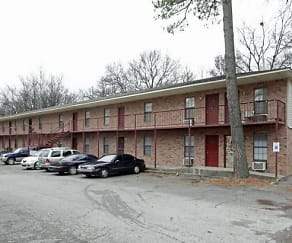 Building, Glen Oak Apartments