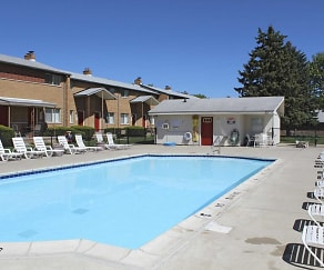 Pool, Village Townhomes