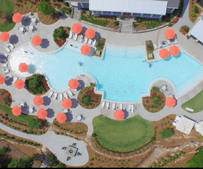 Pool, Lullwater Apartments