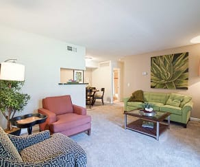 Living Room, The Pointe at City Center