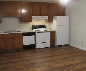 Kitchen, Oak Hill Apartment Homes