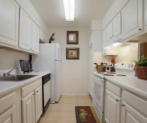 Kitchen, Bel Air Apartments