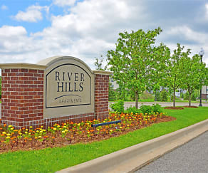 Community Signage, River Hills Apartments