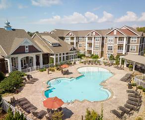 Pool, Pavilion Village Apartments