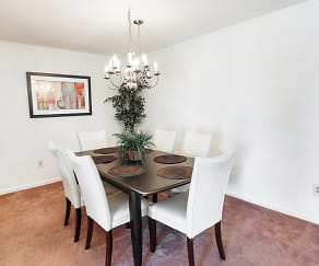 Dining Room, Briarcliff Apartments