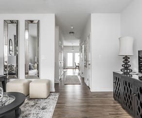 Living Room Hallway - Recently Renovated - Haverford Apts, Haverford Place