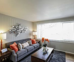Living Room, The Centre Apartments