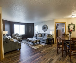 Our Open Floor Plans With Natural Light Are inviting & cozy, Cottonwood Apartment Homes