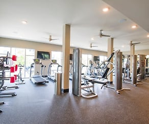 Fitness Weight Room, Parks at Nexton
