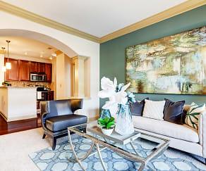Living Room, Apartments At The Arboretum