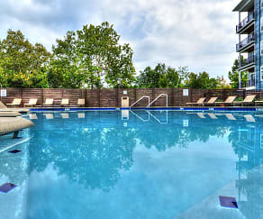 Pool, Phoenix Village Apartments