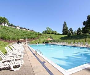 Pool, Crane Village Apartments