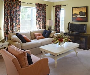 Living Room, Parkland View Apartments