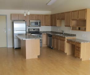 Kitchen, Timber Ridge Apartments