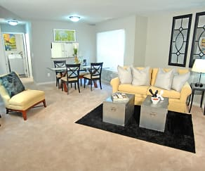 Living Room, Westbury Village Townhouses