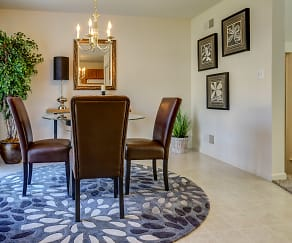 Dining Room, Windsor Commons Townhomes